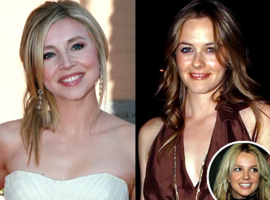 Sarah Chalke, Alicia Silverstone, Britney Spears