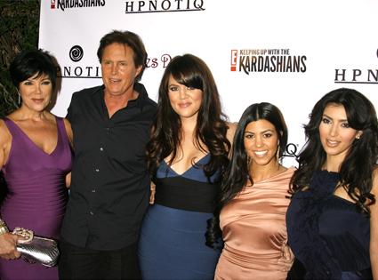 Kim Jenner, Bruce Jenner, Khloe Kardahian, Kourtney Kardashian, Kim Kardashian