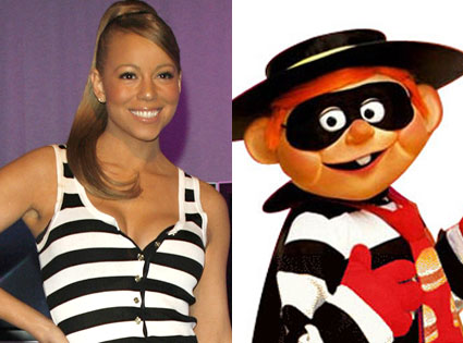 Mariah Carey, McDonald's Hamburglar