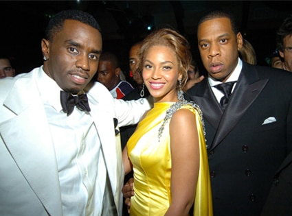 Sean Diddy Combs, Beyonce, Jay-Z