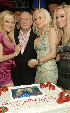 Bridget Marquardt, Hugh Hefner, Holly Madison, Kendra Wilkinson