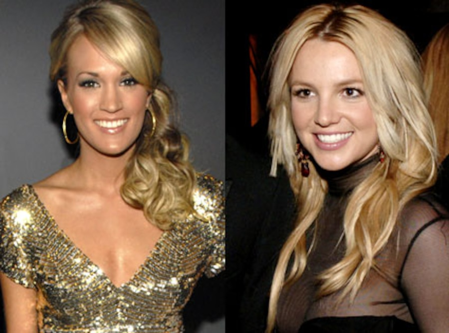 Carrie Underwood, Britney Spears
