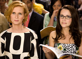 Kristin Davis, Cynthia Nixon, Sex and the City