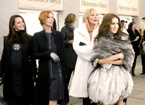 Sarah Jessica Parker, Kim Cattrall, Cynthia Nixon, Kristin Davis, Sex and the City