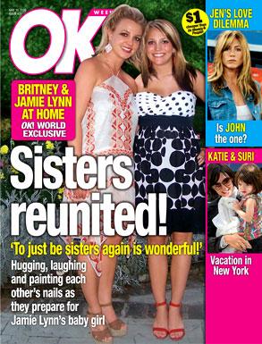 Jamie Lynn Spears, Britney Spears, OK! Magazine