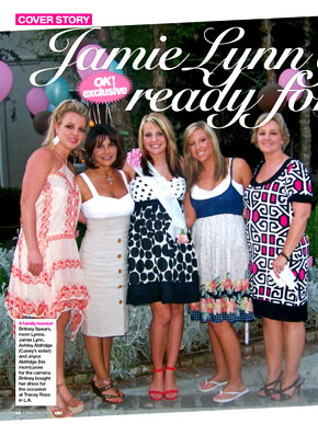 Jamie Lynn Spears, OK! Magazine (interior)