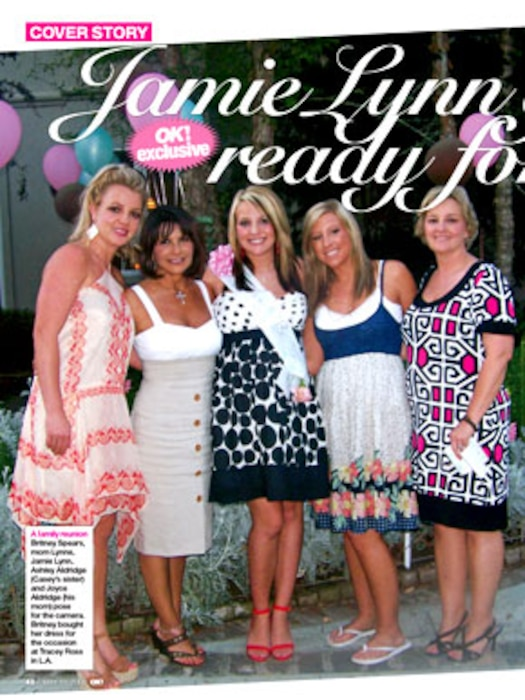 Jamie Lynn Spears, OK! Magazine (interior)