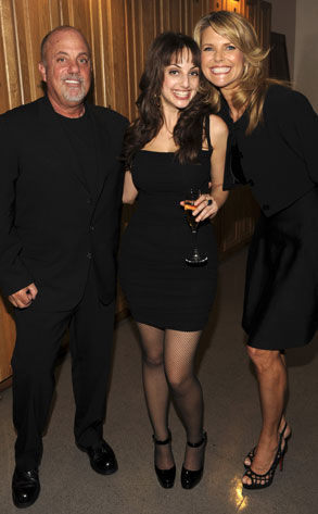 Billy Joel, Alexa Ray Joel, Christie Brinkley