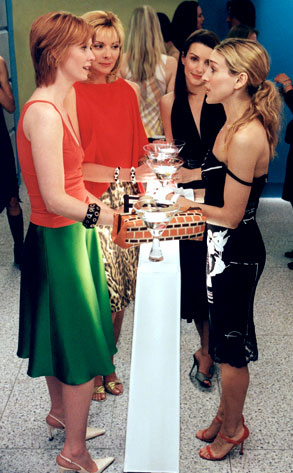 Sarah Jessica Parker, Cynthia Nixon, Kristin Davis, Kim Cattrall, Sex and the City