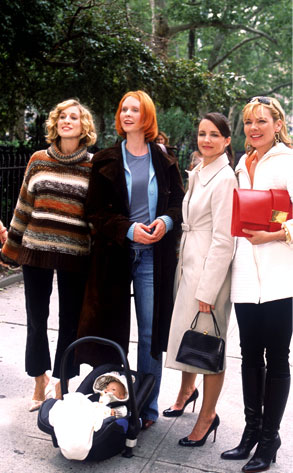 Sarah Jessica Parker, Cynthia Nixon, Kristin Davis, Kim Cattrall, Sex and the City