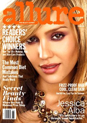 Jessica Alba, Allure Magazine