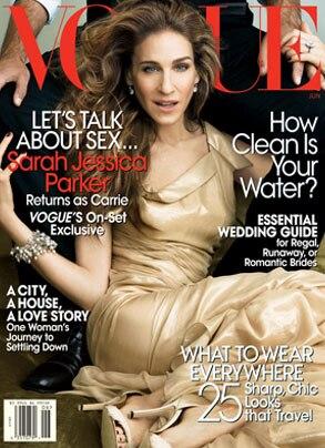 Sarah Jessica Parker, Vogue Magazine