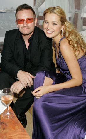 Bono, Petra Nemcova