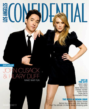 Hilary Duff, John Cusack, Los Angeles Confidential