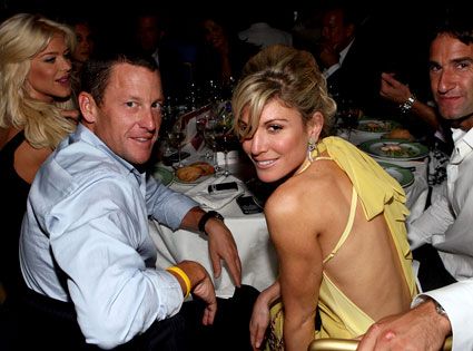 Victoria Silvstedt, Lance Armstrong