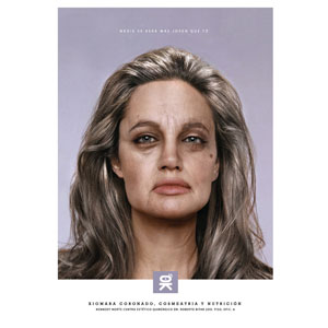 Angelina Jolie beauty ad