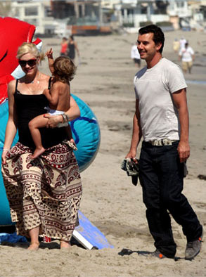 Gwen Stefani, Gavin Rossdale, Kingston