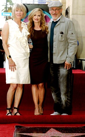 Holly Hunter, Kate Capshaw, Steven Spielberg