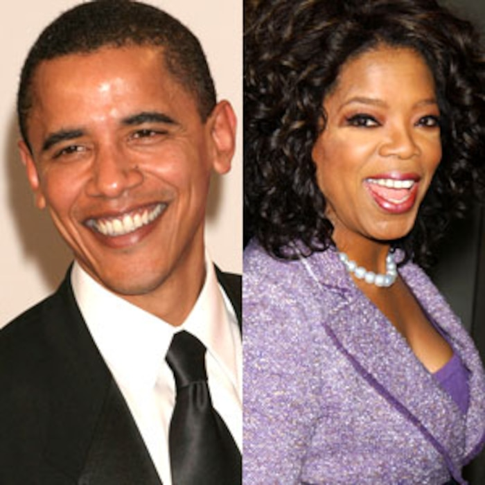 Barack Obama, Oprah Winfrey