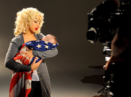 Christina Aguilera, Rock the Vote PSA
