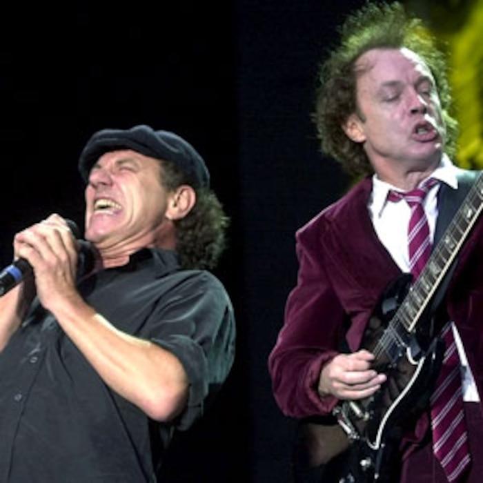 Brian Johnson, Angus Young, AC/DC