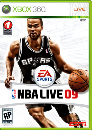 Tony Parker, Electronic Arts' NBA Live 2009