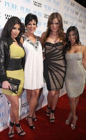 Kim Kardashian, Khloe Kardashian, Kourtney Kardashian, Kris Kardashian