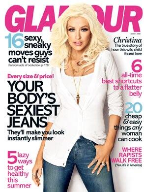 Christina Aguilera, Glamour Magazine