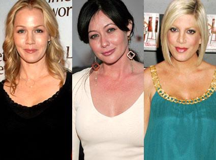 Jennie Garth, Shannen Doherty, Tori Spelling