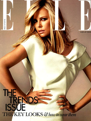 Charlize Theron, Elle Magazine (UK)