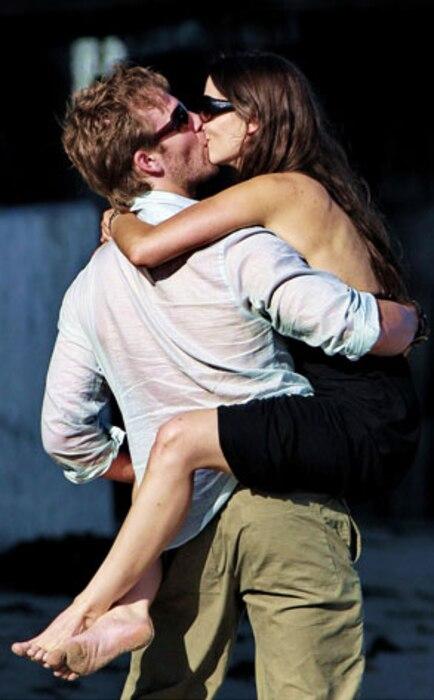 James Van Der Beek, Heather McComb