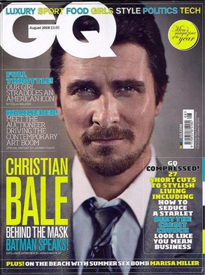 Christian Bale GQ UK