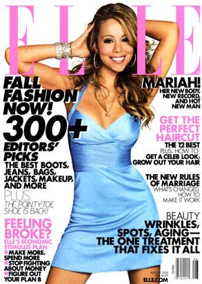 Mariah Carey, Elle Magazine