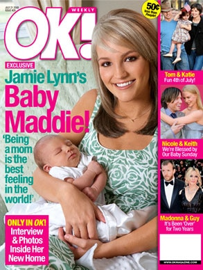Jamie Lynn Spears, OK! Magazine
