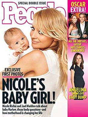 Nicole Richie People Cover