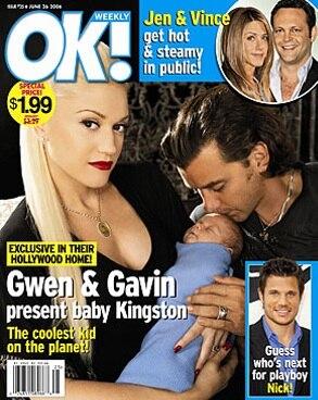 Gwen Stefani, Gavin Rossdale OK! Cover