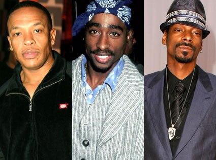Dr. Dre, Tupac Shakur, Snoop Dogg
