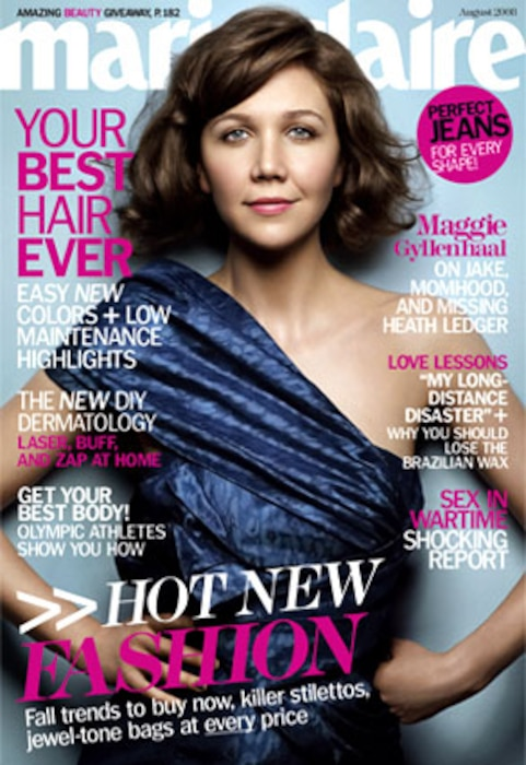 Maggie Gyllenhaal, Marie Claire Magazine
