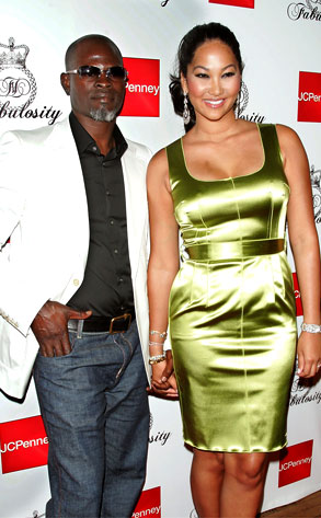 Kimora Lee Simmons, Djimon Hounsou