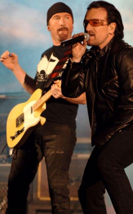 Bono, The Edge, U2