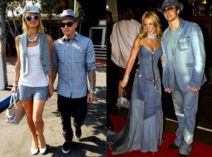 Paris Hilton, Benji Madden, Britney Spears, Justin Timberlake