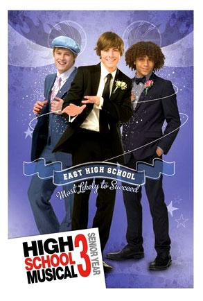 High School Musical 3 (Movie Poster)