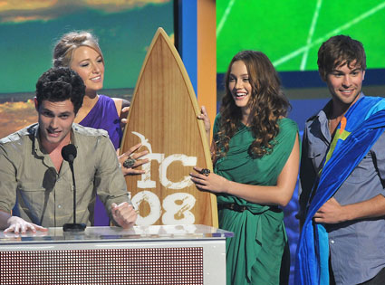Penn Badgley, Blake Lively, Leighton Meester, Chace Crawford
