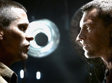 Terminator Salvation, Christian Bale, Sam Worthington