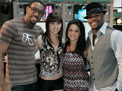 So You Think You Can Dance: Stephen 'Twitch' Boss, Katee Shean, Courtney Galiano, Joshua Allen