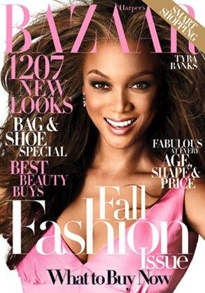 Tyra Banks, Harper's Bazaar