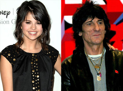 Selena Gomez, Ron Wood