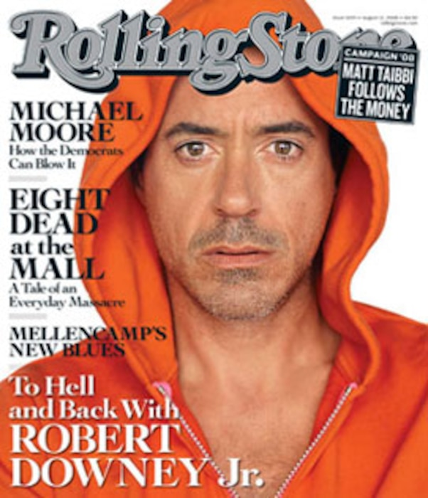Robert Downey Jr., Rolling Stone Magazine