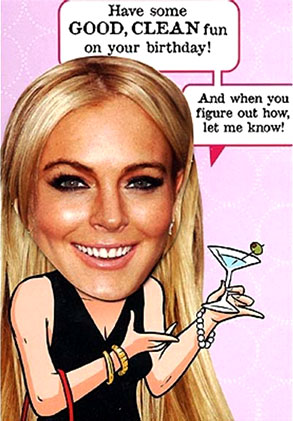 Lindsay Lohan, Hallmark Card