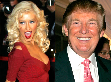 Christina Aguilera, Donald Trump